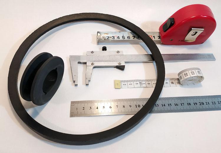 Инструмент для измерения профиля приводного клинового ремня