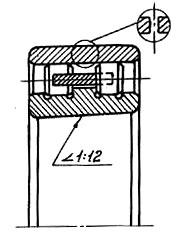 эскиз подшипника 3182121